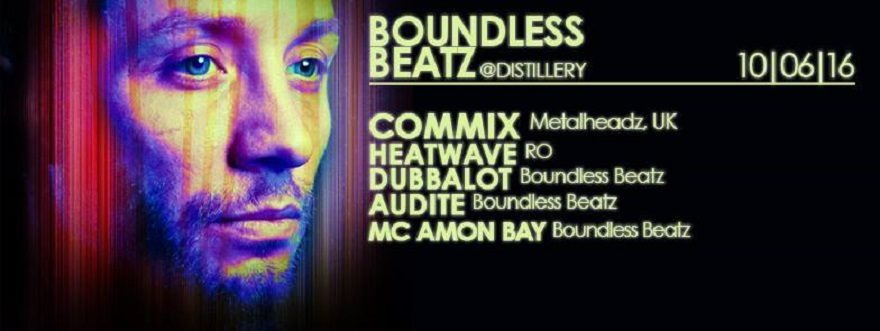 audite at Boundless Beatz w Commix